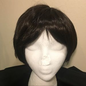 Accessories - New Dark Brown Pixie Synthetic Wig
